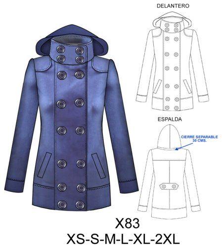 Imagui Pinterest Para Moldes Polar Abrigos De Arte Couture q4fxxpnwC