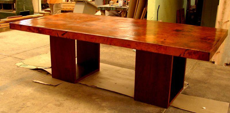 Custom Mexican Copper Furniture Designs Copper Furniture Copper