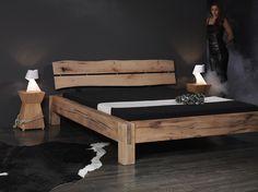 Holzbett selber bauen balken  Bauanleitung Balken-Bett | Bett, Bauanleitung und Bett bauen