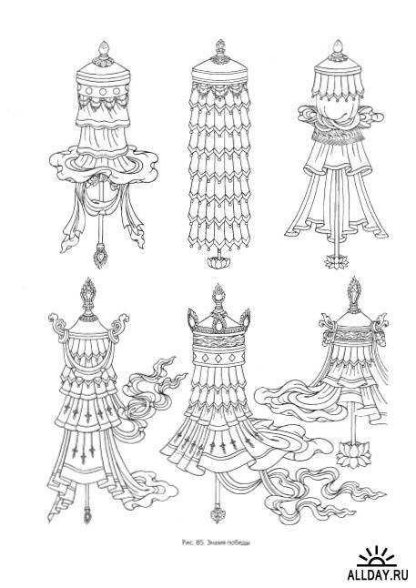 Tibetan ornament | inspired | Tibetan tattoo, Buddhist art