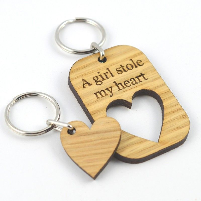 A Girl Stole My Heart Valentines Day Gift Love Keyring Present For Girlfriend – …