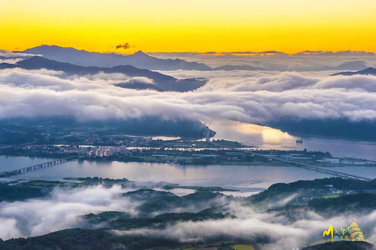 양수리 여명(sunrise)