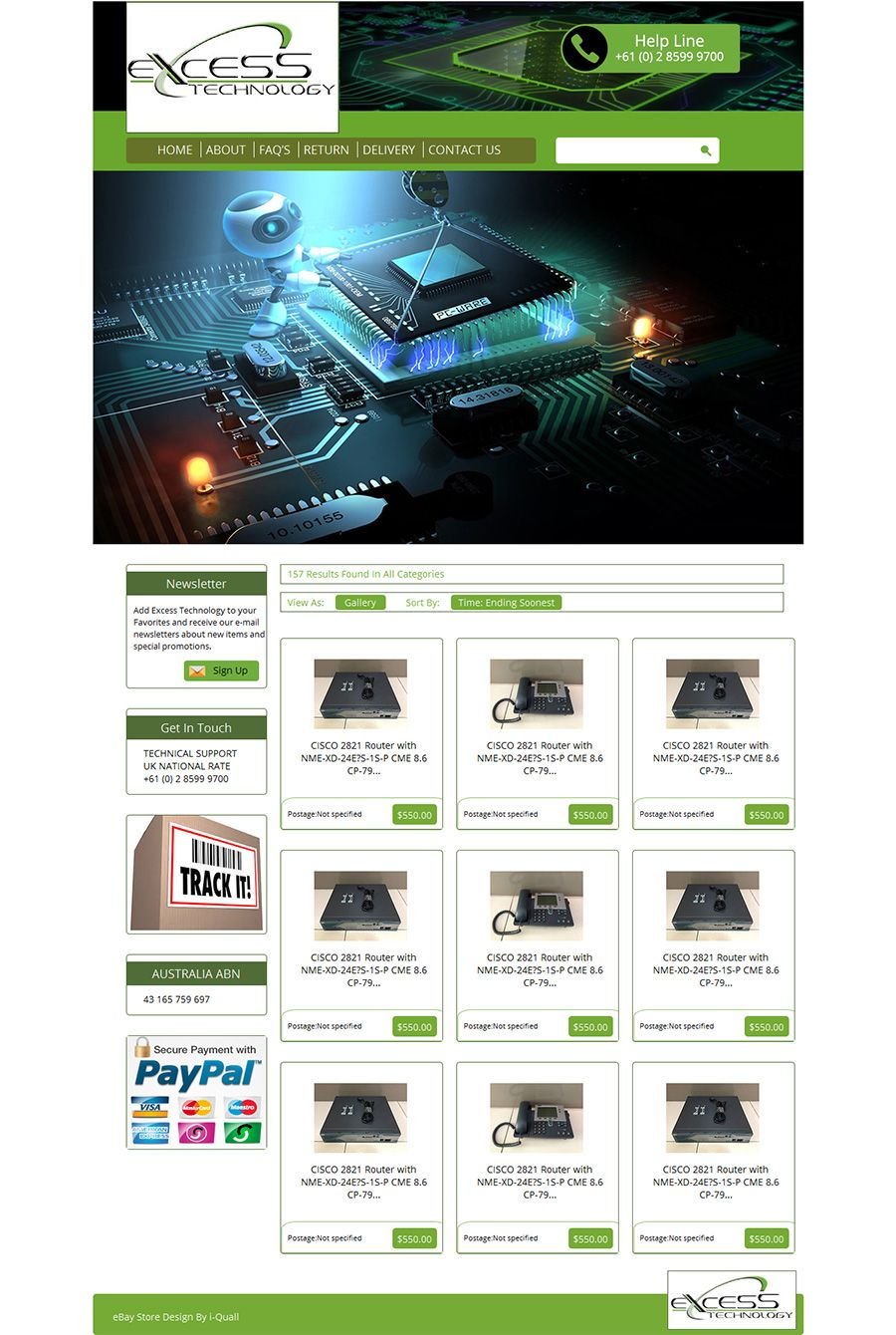 Professional ebay store template custom ebay store design professional ebay store template custom ebay store design template pronofoot35fo Image collections
