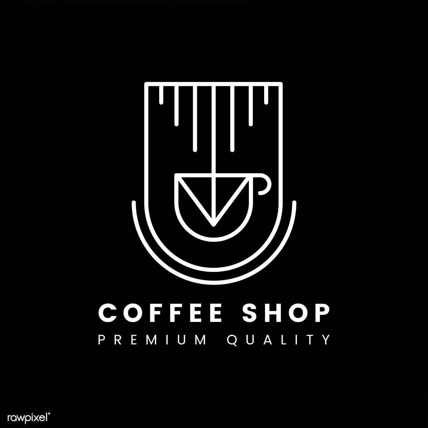 Premium Quality Coffee Shop Logo Vector Free Image By Rawpixel Com Aew Coffee Shop Logo Shop Logo Tea Logo
