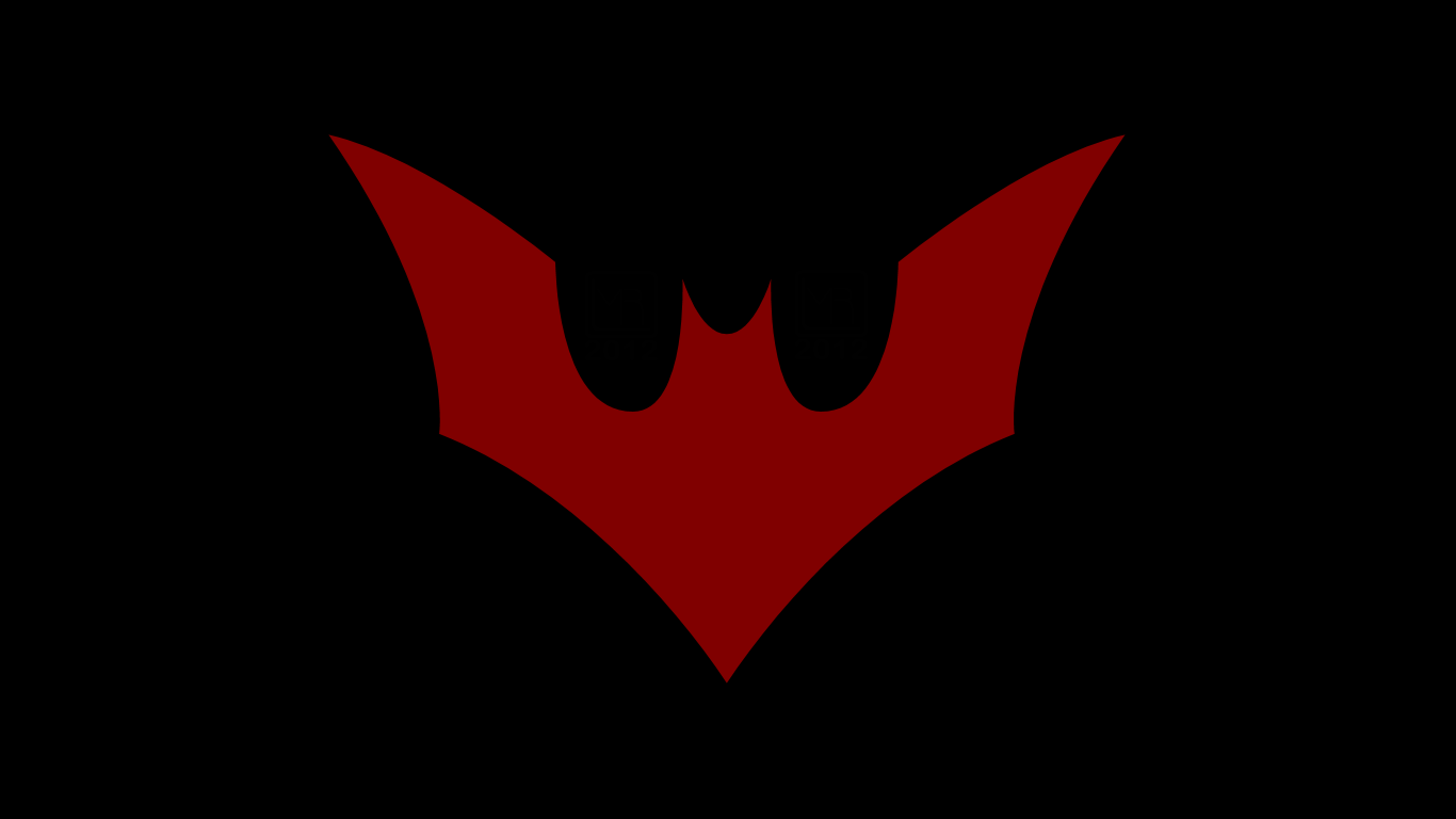 Batman beyond symbol wp by morganrlewis deviantart com on deviantart