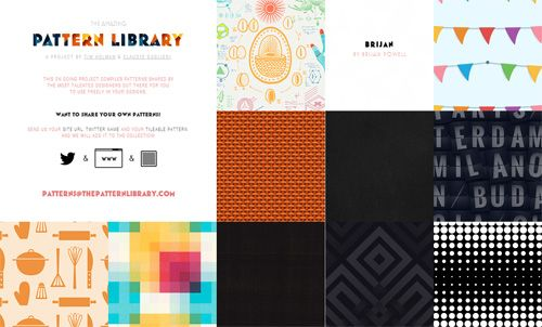 The Pattern Library A Resource For Free Seamless Patterns