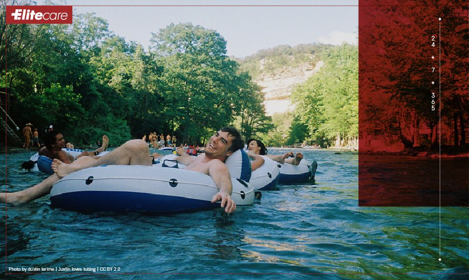 Texas Summer Safety Guide Guadalupe river, Places to go