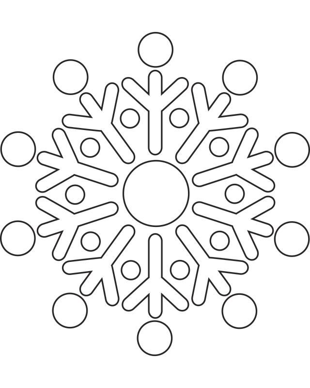 These Printable Snowflake Templates Will Get Your Kids Through Any