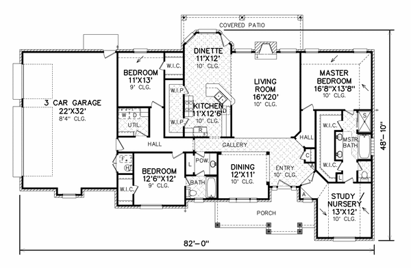 3-2 Great Master w/attached Retreat/Nursery space | Home Ideas ... on