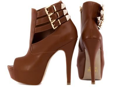 Peep-Toe Torricella Shoe