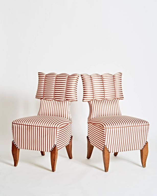 1920's Berlin Side Chairs by August Endell 4