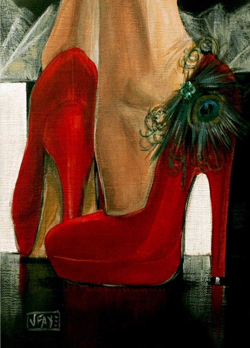 Открытки открытка, открытка женщине туфли