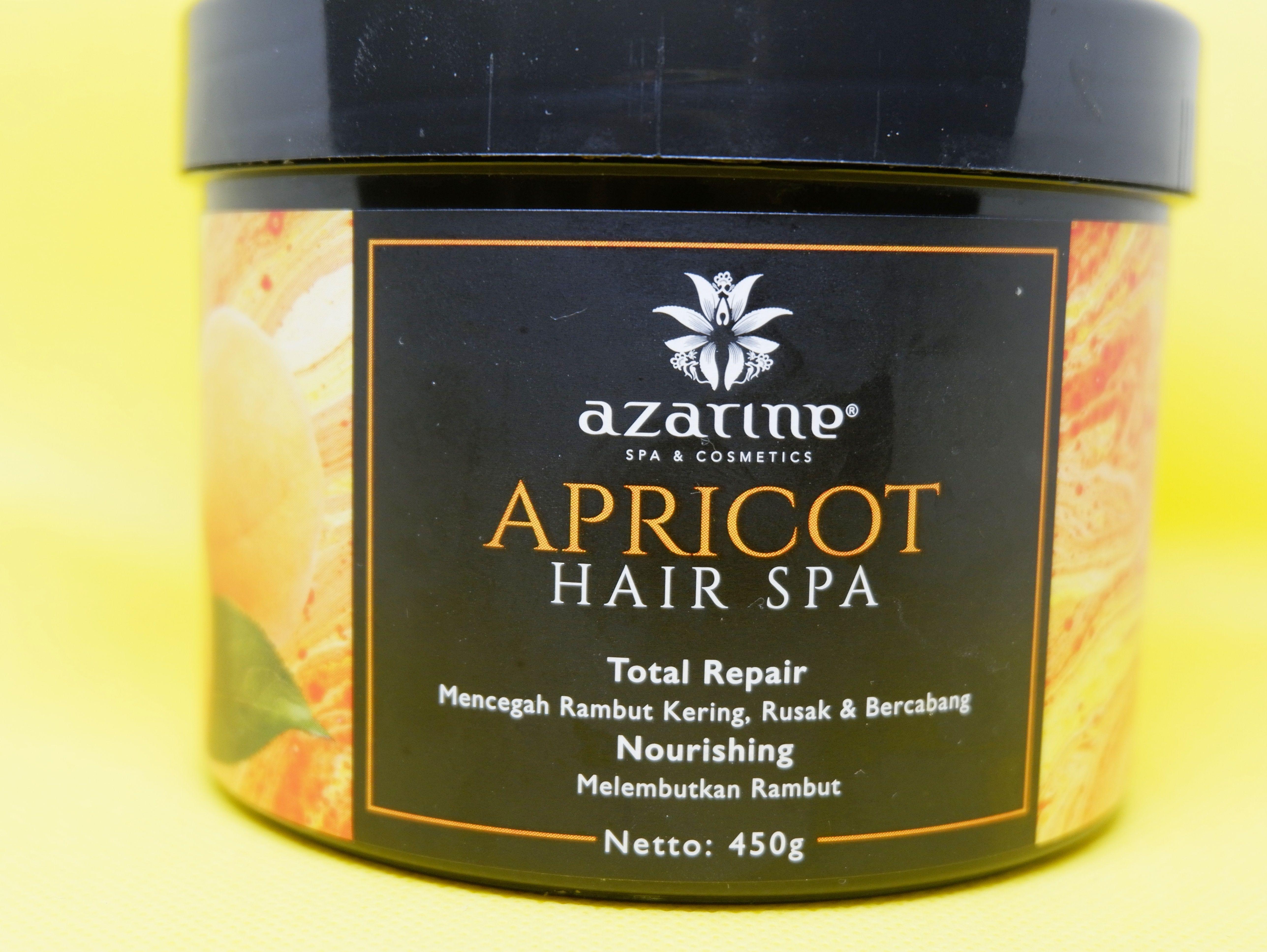 review azarine apricot hair spa