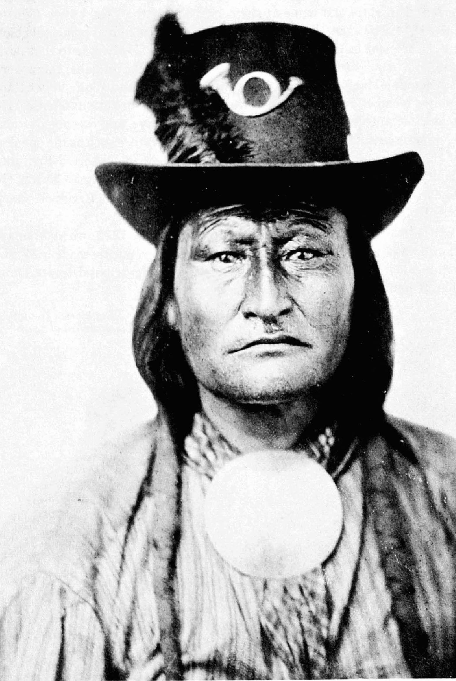 Bird Chief, Kiowa Warrior by William Stinson Soule, no ...