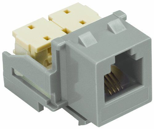 Allen Tel At36 14 Versatap Category 3 Modular Jack Modules For 22 24 Awg Wire 6 Position 6 Conductor Grey By Allen Te Electrical Cables Modular Installation