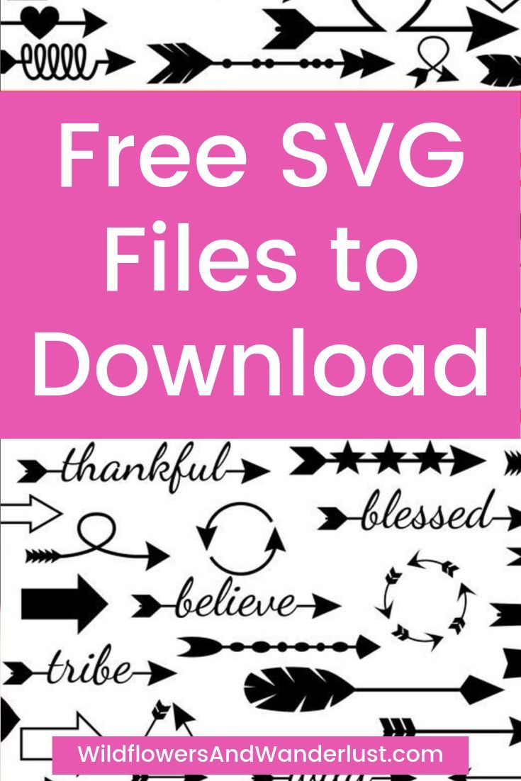 Free SVG Files and Where to Find Them – Wildflowers and Wanderlust