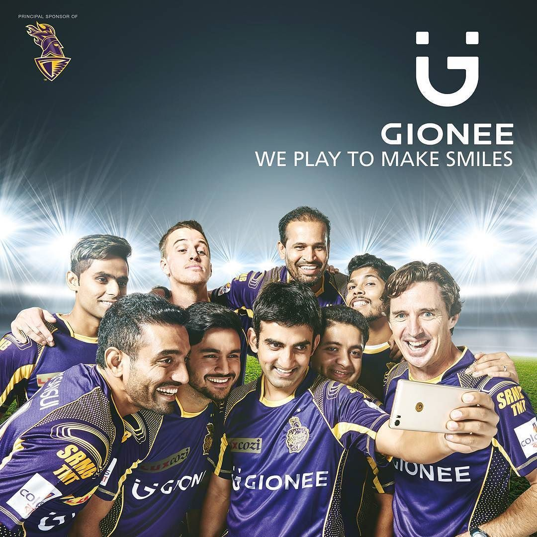 Looking forward to spreading more smiles with our superstars. Proud Principal Sponsors of the @kkriders. We play to #MakeSmiles #GioneeKKR by gioneeindia on Instagram https://goo.gl/9JYXYP