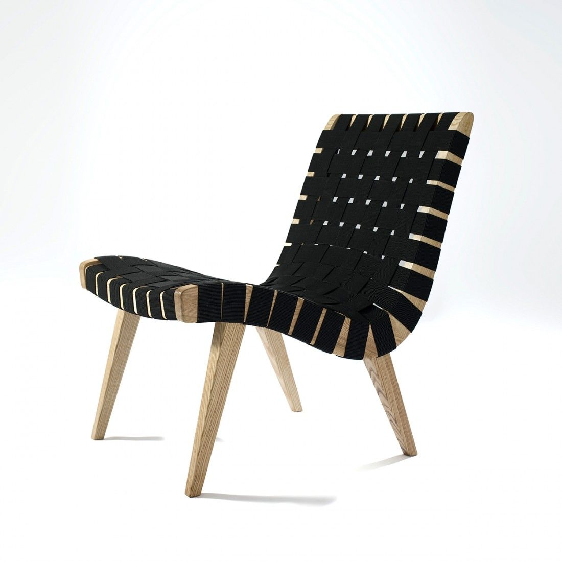 Best Mid Century Risom Lounge Chair Black With Images Mid 640 x 480