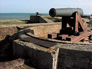 Fort Gaines on Dauphin Island   Bein Southern   Dauphin
