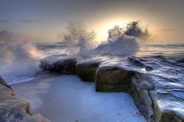 Wind n Sea, La Jolla by www.tropicalphotosbylarson.com, via Flickr