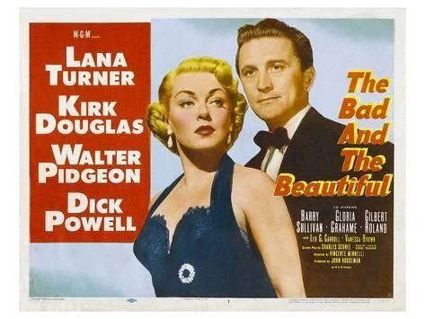 The bad /& the beautiful Lana Turner movie poster print