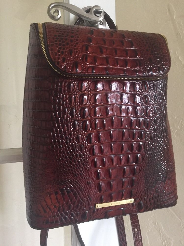 577e77677 Brahmin Darcy Backpack Pecan Melbourne Leather #Brahmin #BackpackStyle