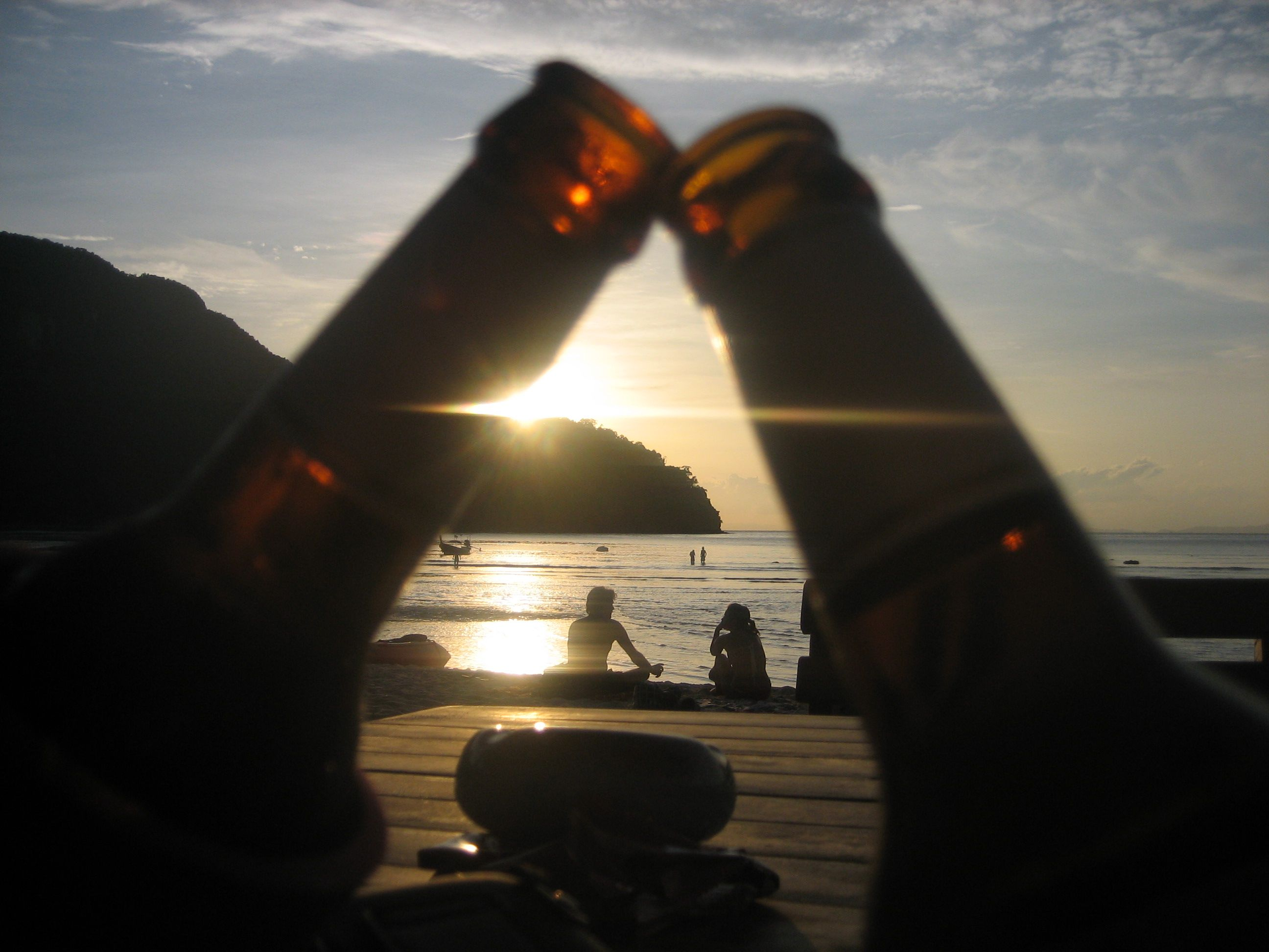 Sunset at Koh Phi phi, Thailand