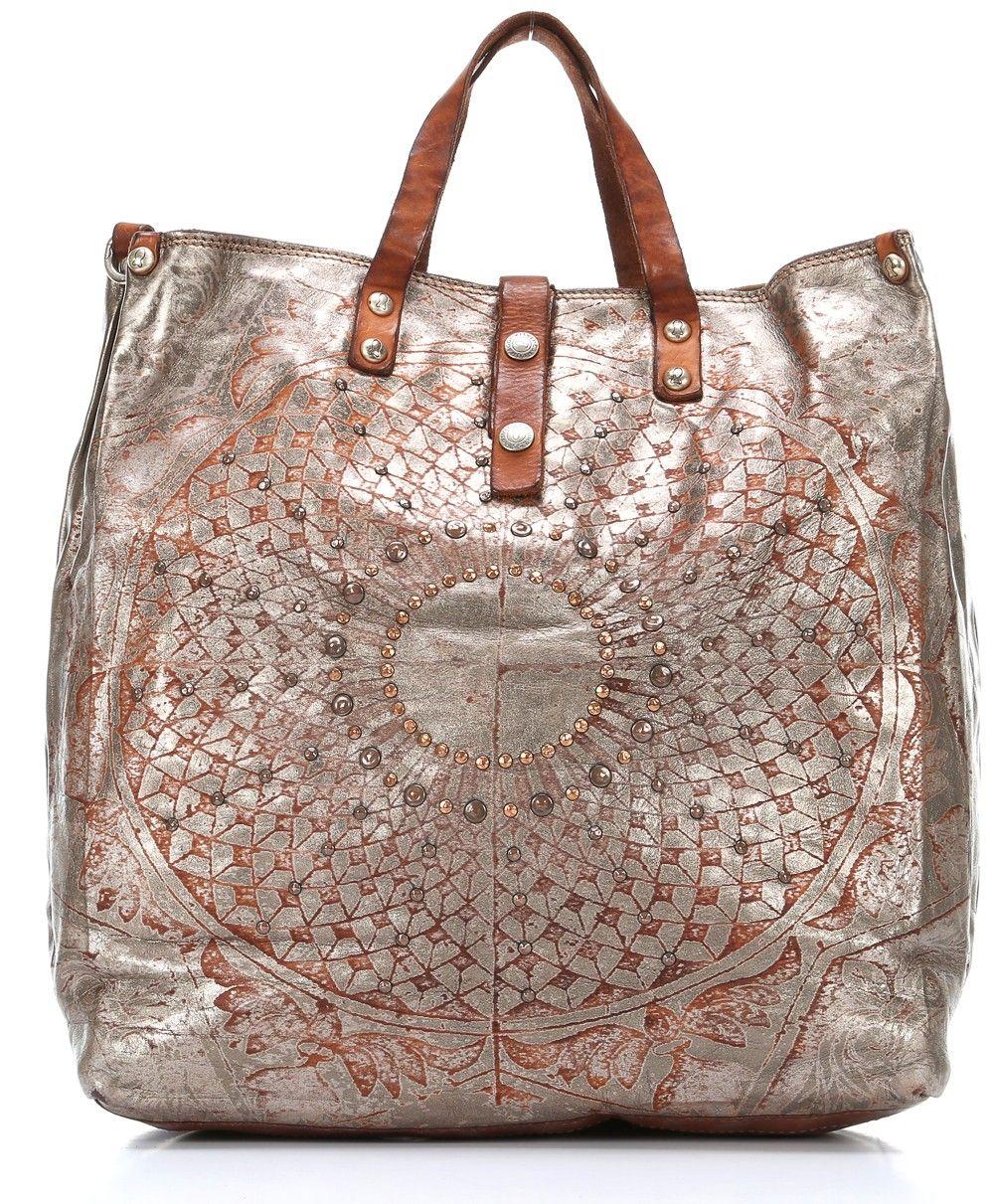 Silver leather tote bag uk - Tote Bag