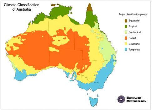 australia map zones