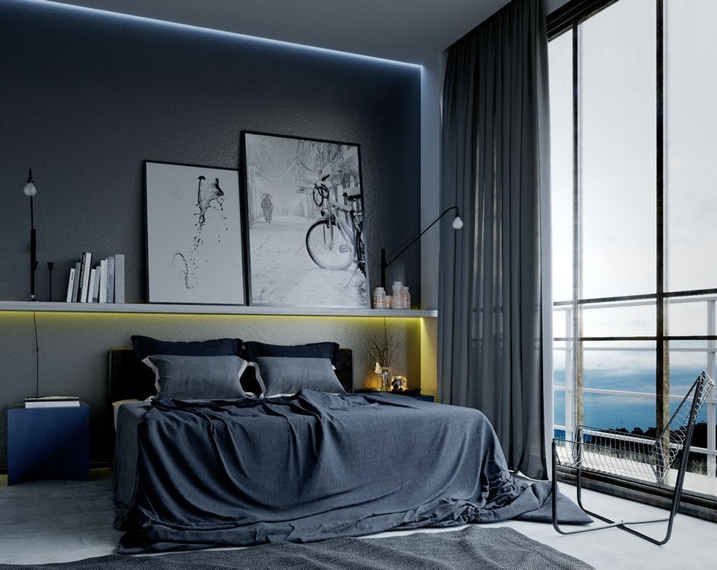 20 Modern Bedroom Decorating Ideas For Men Chambres A Coucher