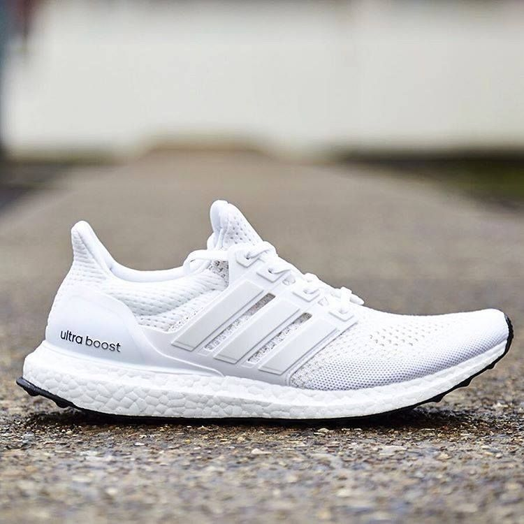 Adidas Ultra Boost Triple White 1 0 Sneakers Fashion Running Shoes For Men Sneakers Men Fashion