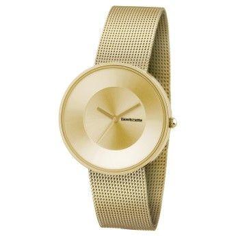 bd94c362db81 Elegante Reloj Mujer Lambretta Colección Cielo Mesh Dorado con Correa de  Tipo Malla en color Oro