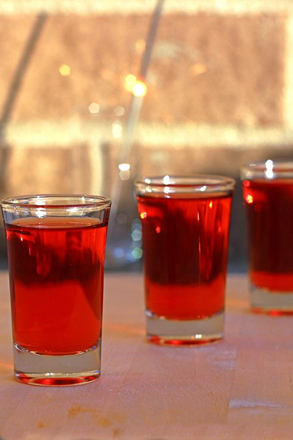 Red hot shot drink recipe with aftershock cinnamon for Best tequila shot recipes