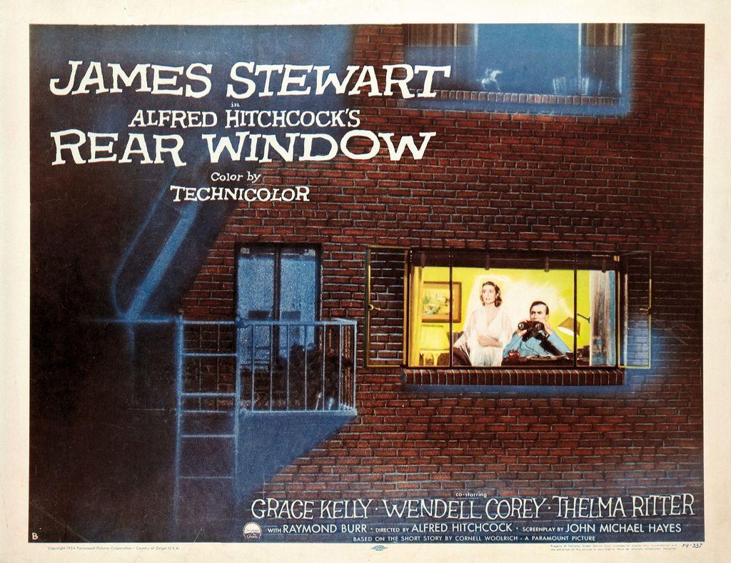 rear window poster - Pesquisa Google