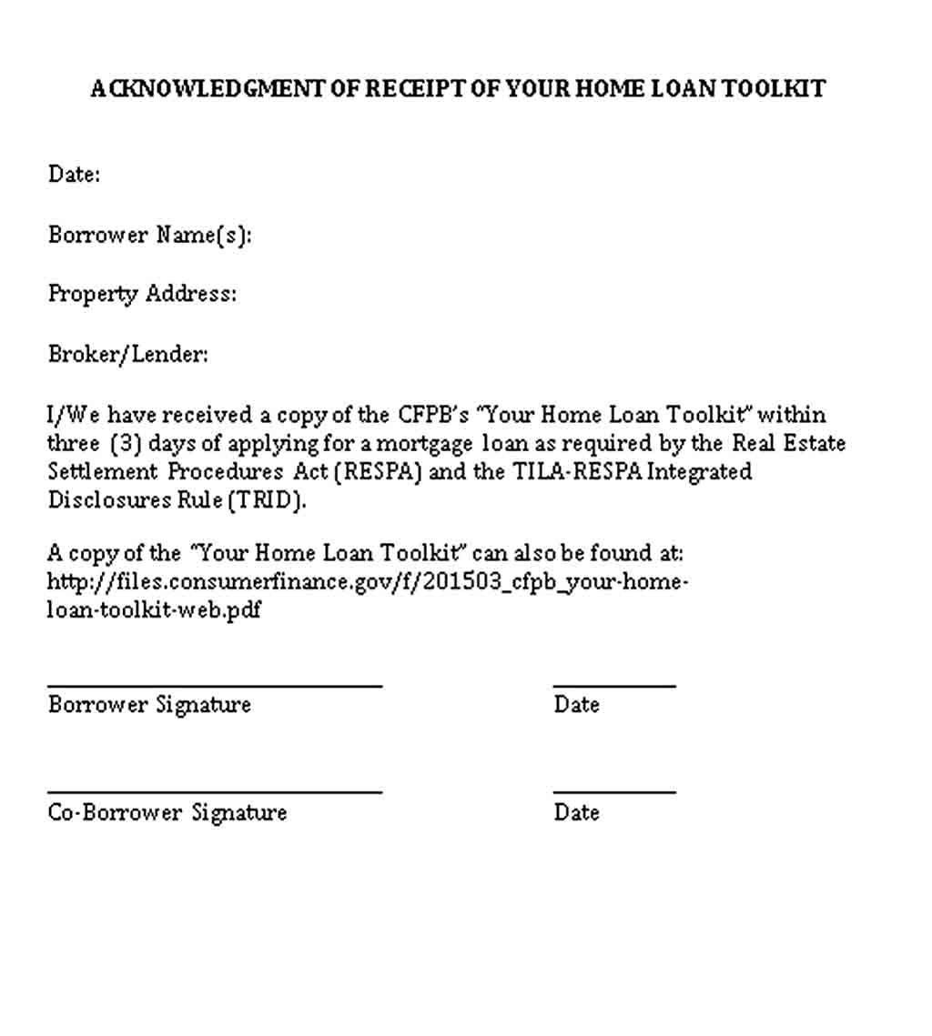 Loan Receipt Template Receipt Template Loan Lending Company