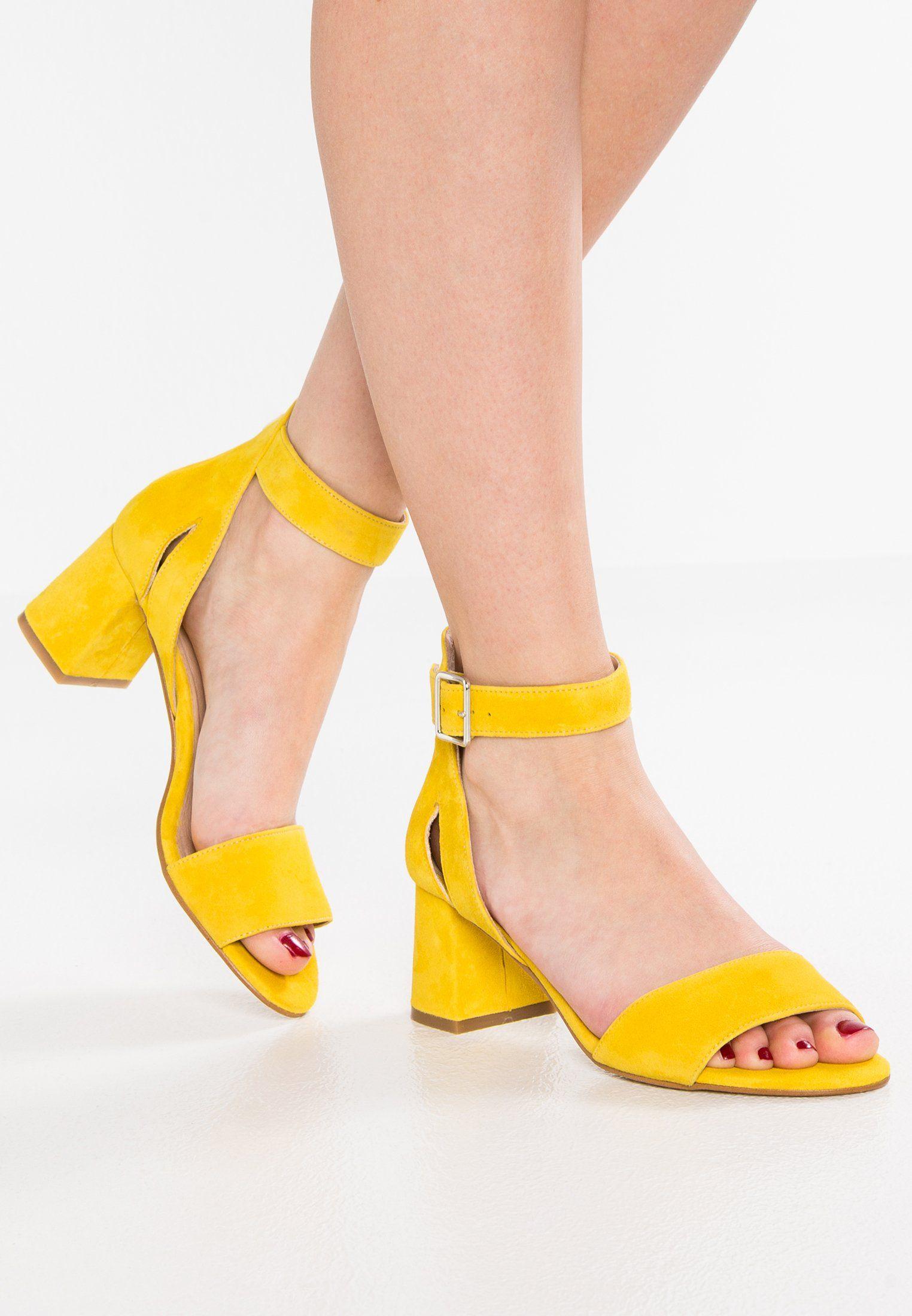 promo code c4e98 4909f Shoe The Bear MAY - Sandalen - yellow - Zalando.nl | my ...