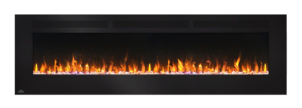 Napoleon 72 In Allure Wall Mount Electric Fireplace
