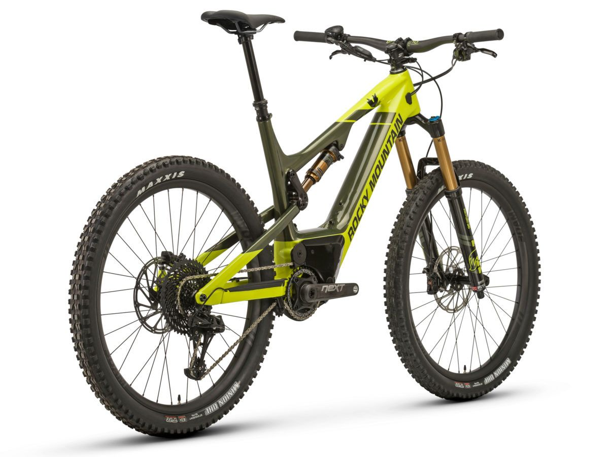 Just A Few Weeks Back Rocky Mountain Introduced A New Altitude Trail Bike But Apparently They Have Had An E Bike Version Waiting In The W Electric Mountain Bike
