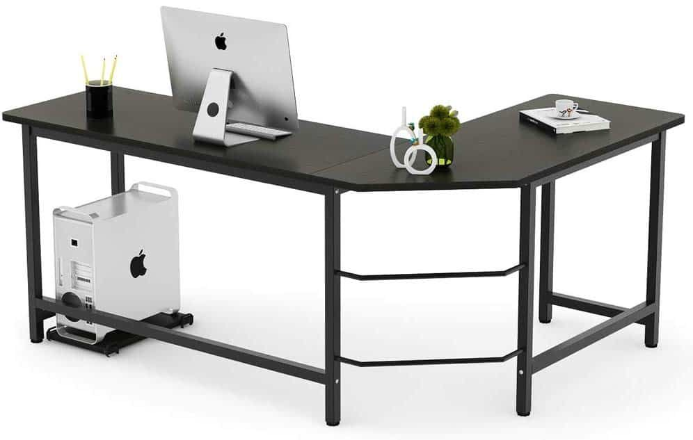 The L shape Desks are great for higher efficiency and ...