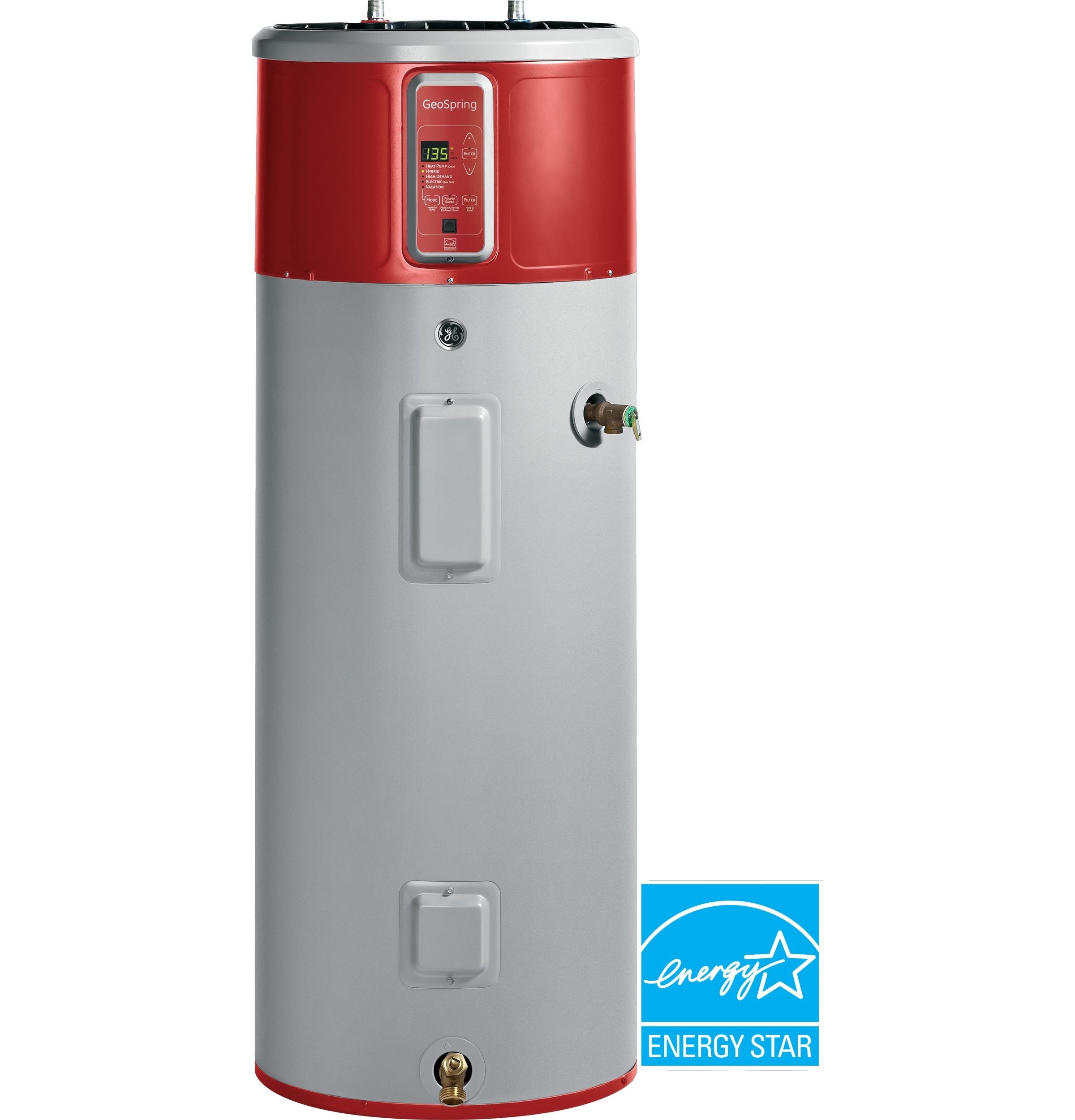 Geh50deedsr Geospring Hybrid Water Heater Ge Appliances Hybrid Water Heaters Electric Water Heater Heat Pump Water Heater