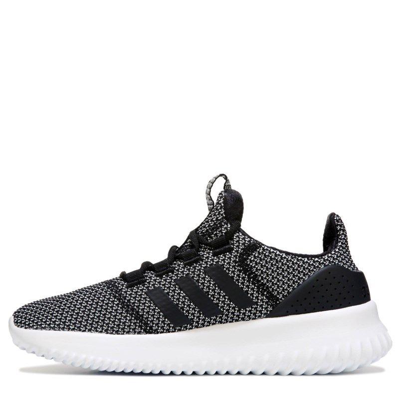 Adidas Kids  Cloudfoam Ultimate K Running Shoe Pre Grade School Shoes  (Black White) b02082e73