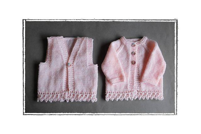 05bfdb3cae16 Ravelry  ENYA Baby Gilet   Waistcoat pattern by marianna mel ...