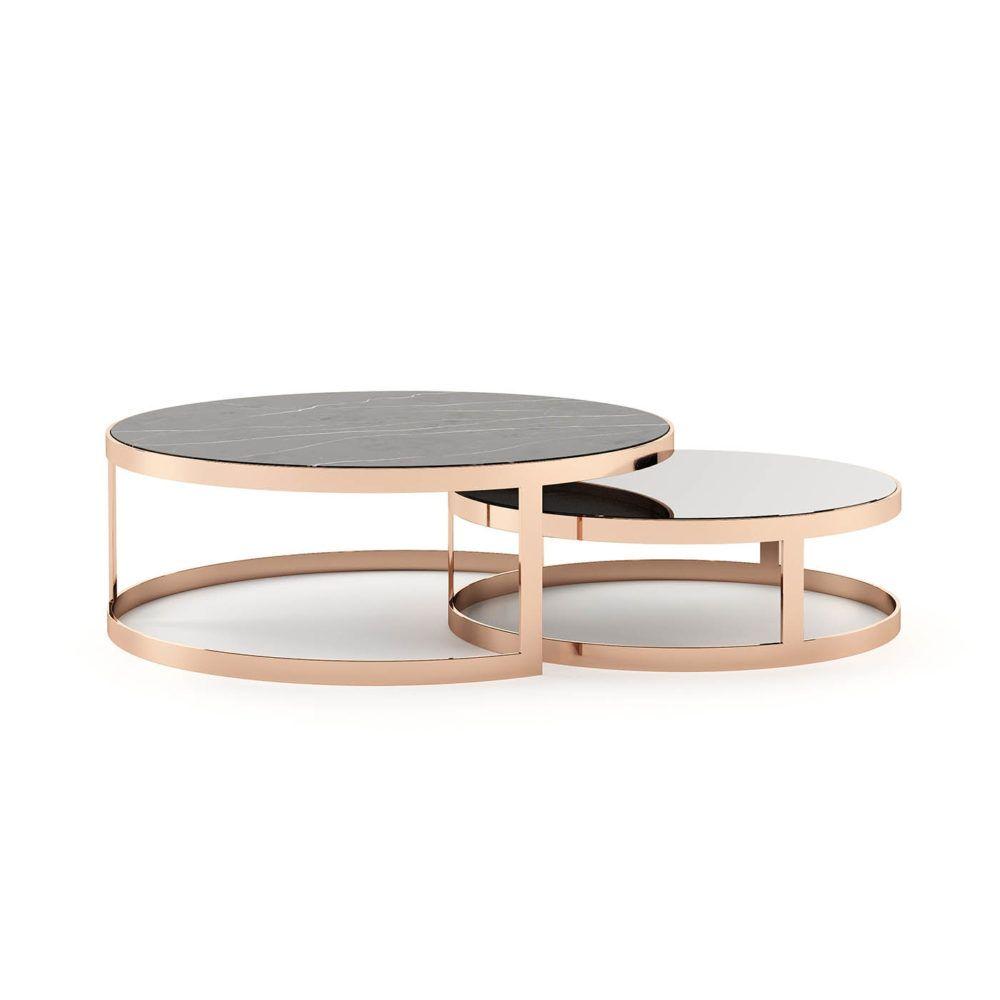 Lua Coffee Table Laskasas Table Decor Living Room Center Table Round Coffee Table [ 1000 x 1000 Pixel ]