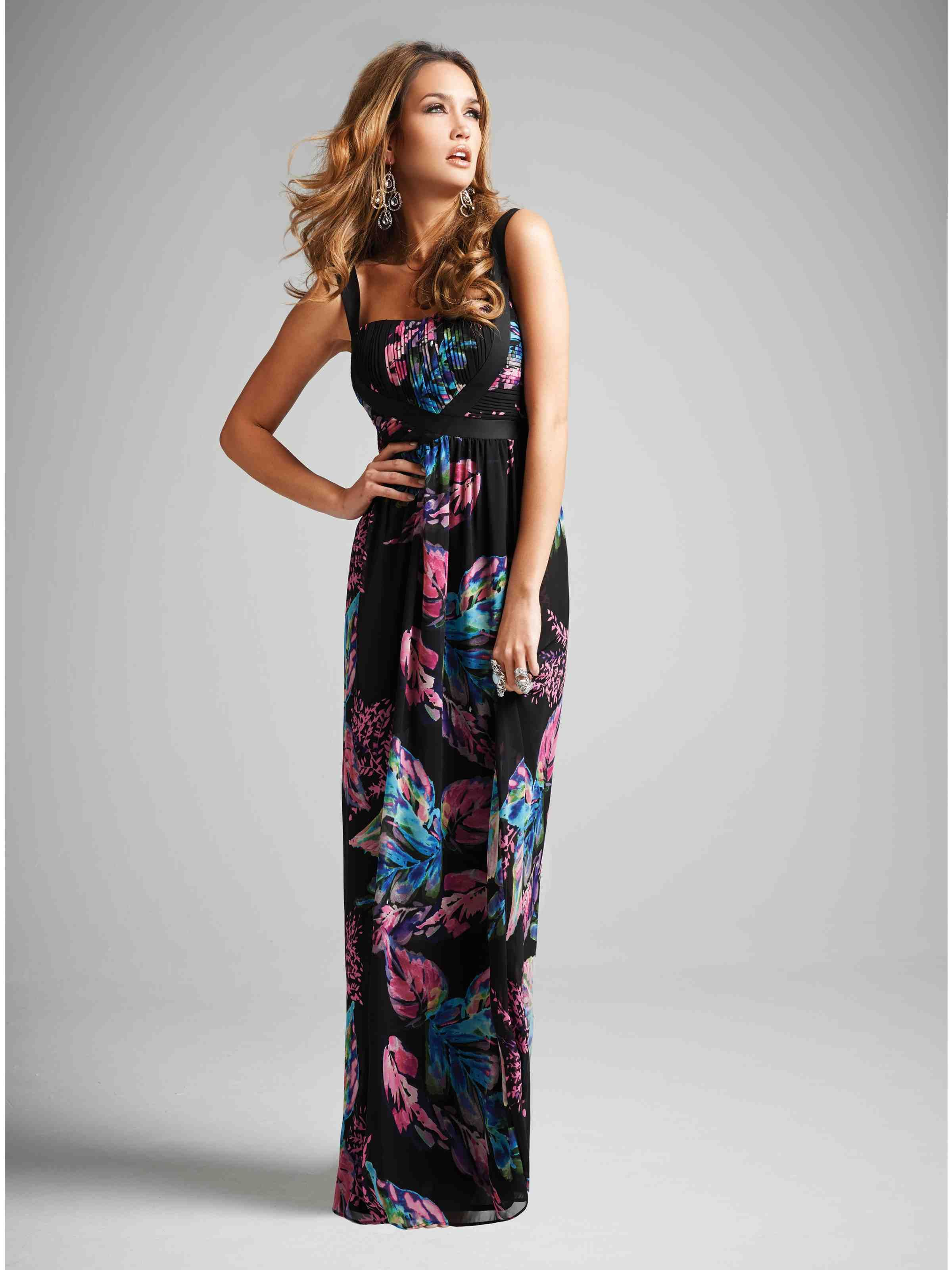 Pleated Bust Floral Maxi Dress Jane Norman Floral Maxi Dress Maxi Dress Dresses
