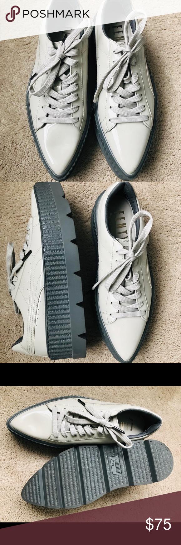 puma pointed toe creeper sneaker