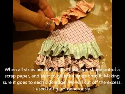 Graphic 45 Ruffled Easter Egg Tag Tutorial from Miranda #graphic45 #tutorials #easter