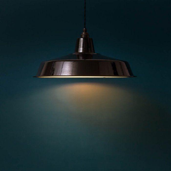 Abat-jour rétro émaillé Atelier XXL | Luminaires | Pinterest | Abat ...