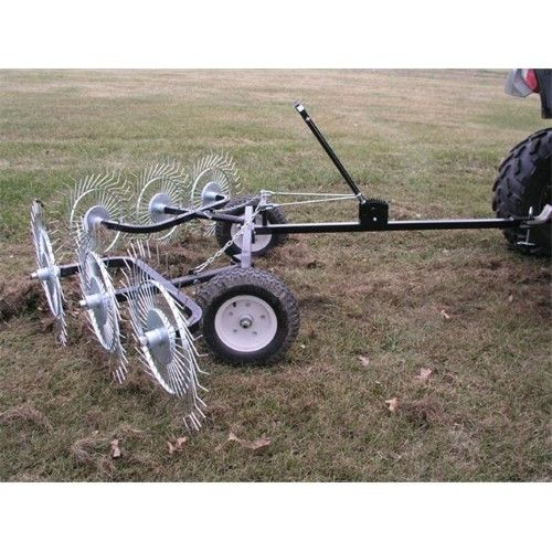 Yard Tuff Acr 500t V Style Acreage Rake Dethatcher 60 Inch Path