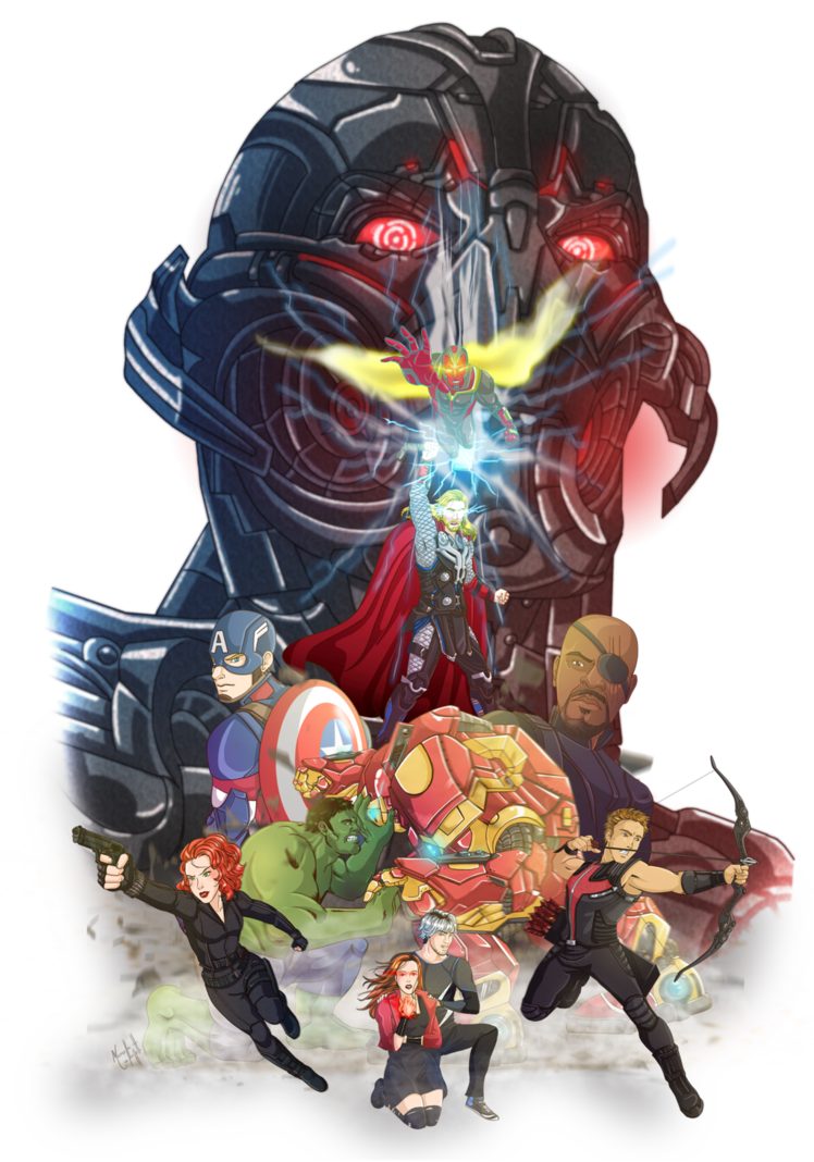 Hulk Fan Art. (Age of ultron Marvel fanart contest) By