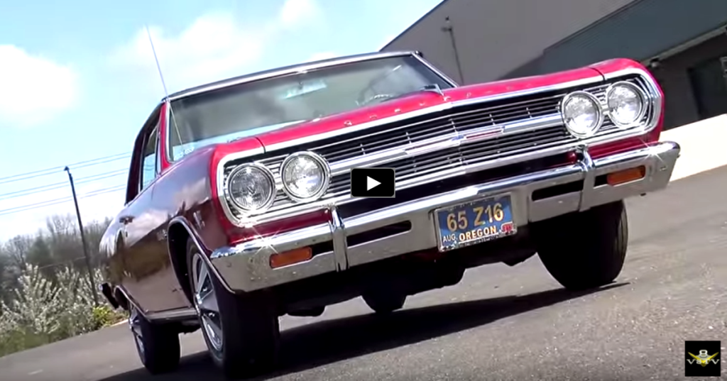 MONSTROUS 1965 CHEVY MALIBU SS 396 Z16 PACKAGE